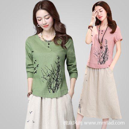 棉麻布衣,复古与时尚的完美结合