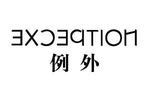 例外(EXCEPTION)